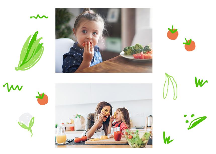 Πώς μπορείς να εντάξεις έξυπνα τα λαχανικά στη διατροφή του παιδιού σου;