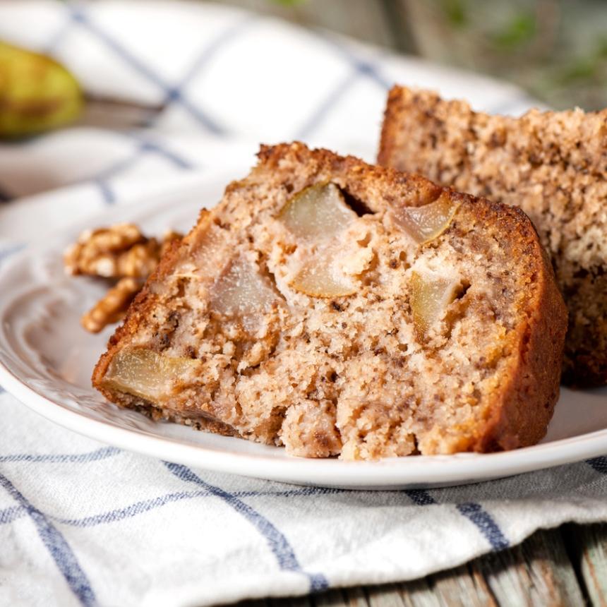 Συνταγή για αφράτο κέικ με αχλάδι