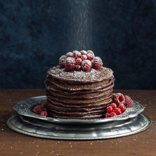 Συνταγή για σοκολατένια Pancakes | tlife.gr
