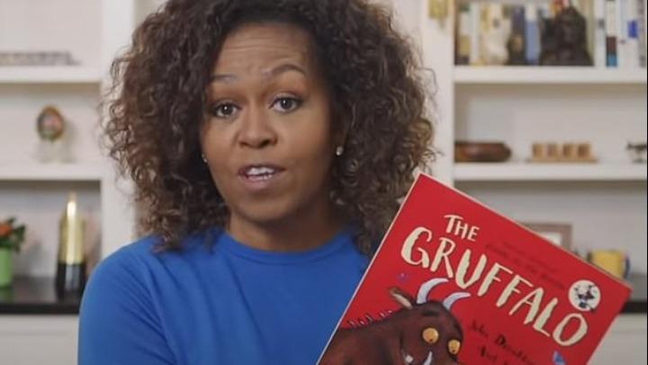Η Michelle Obama διαβάζει βιβλία σε παιδιά online!