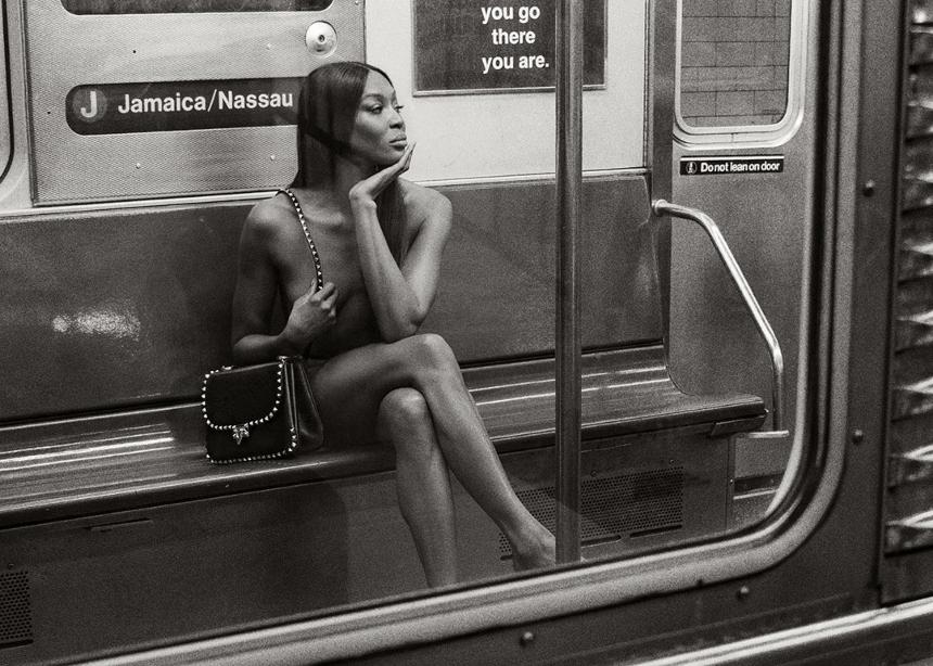 Ο οίκος Valentino δημοσιεύει φωτογραφίες με την Νaomi γυμνή στο μετρό!   tlife.gr