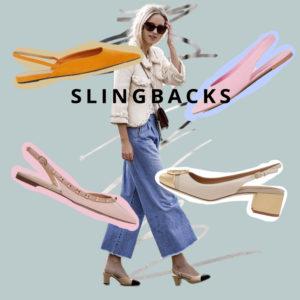 Slingbacks