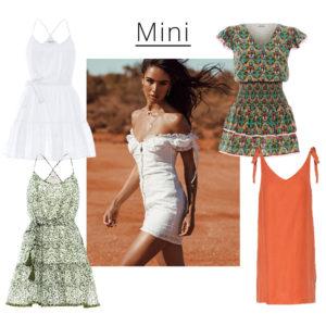 Mini φορέματα