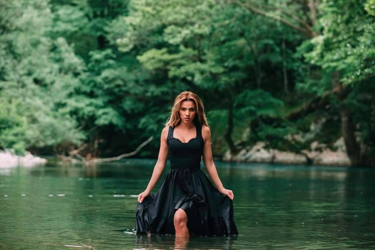 Χρύσα Μπανδέλη: Η δημιουργική καραντίνα και η εντυπωσιακή φωτογράφιση στον επίγειο παράδεισο της Ηπείρου! [pics]