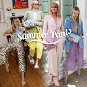 Παντελόνια: Τι φοράω αυτό το καλοκαίρι