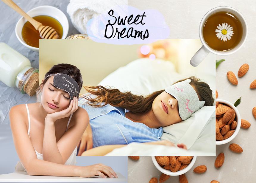 Ποιες τροφές θα σε βοηθήσουν να κοιμηθείς σωστά, τώρα που το πρόγραμμα σου άλλαξε ξανά;