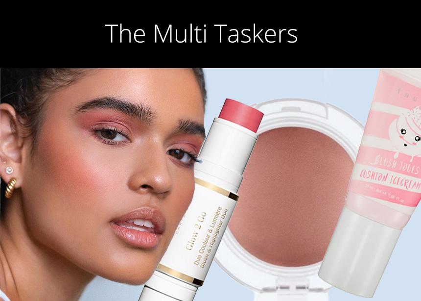 The Multi- taskers! Θα χρειαστείς ένα μόνο προϊόν για να πετύχεις αυτό το πολύ φρέσκο μακιγιάζ!