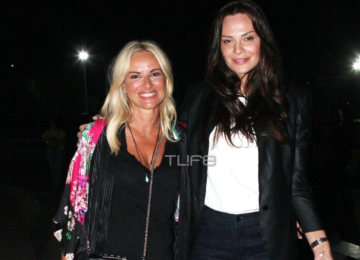 Μαρία Μπεκατώρου – Υβόννη Μπόσνιακ: Δείπνο με φίλους στο σπίτι του Βασίλη Καλλίδη [pics] | tlife.gr