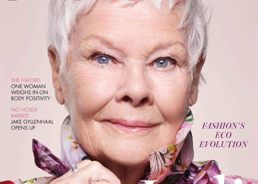Η Judi Dench στα 85 είναι η μεγαλύτερη γυναίκα που γίνεται εξώφυλλο!