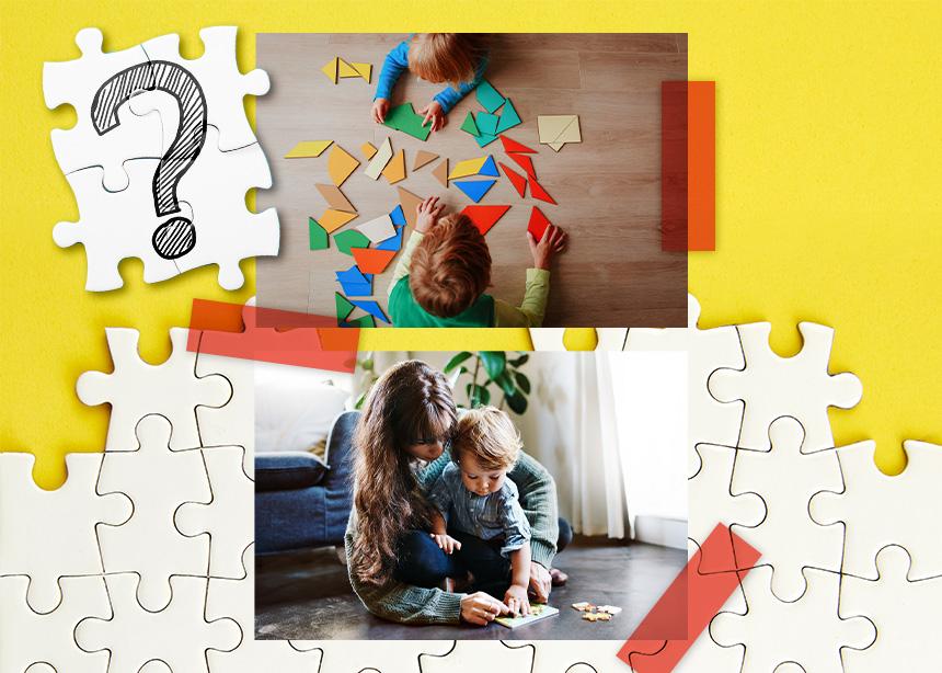 Ποια οφέλη κερδίζει το παιδί μέσα από το παιχνίδι με παζλ;