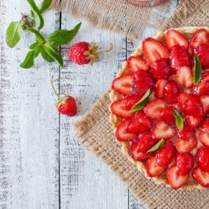 Συνταγή για δροσερή τάρτα φράουλας