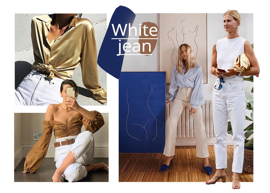 Λευκό τζιν: Δες πως το φοράνε τώρα τα it girls και πάρε ιδέες! | tlife.gr