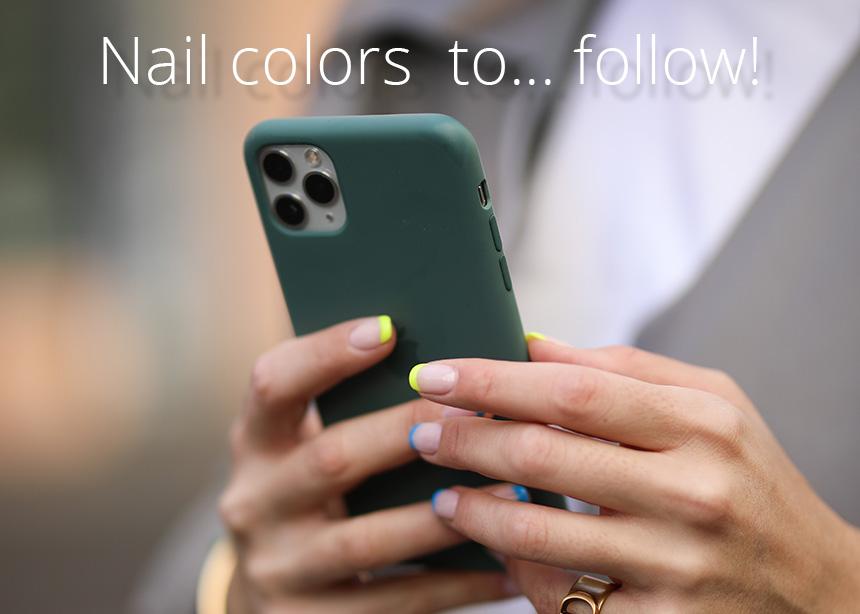 Αυτά είναι τα τέσσερα χρώματα που βάφουν τα νύχια τους τα πιο στιλάτα κορίτσια του instagram!