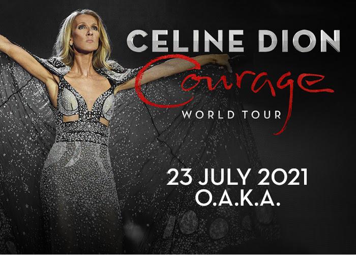 H Celine Dion ανανεώνει το ραντεβού της με το ελληνικό κοινό το 2021