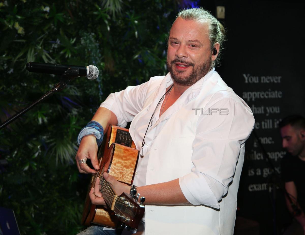 Ο Χρήστος Δάντης έκανε το πρώτο live μετά την καραντίνα μαζί με τον γιο του! [pics]