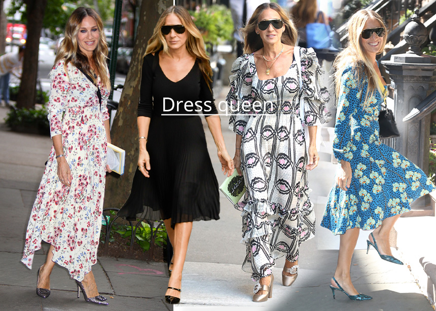 Sarah Jessica Parker!Οι εμφανίσεις της με φορέματα που θα μας μείνουν αξέχαστες | tlife.gr