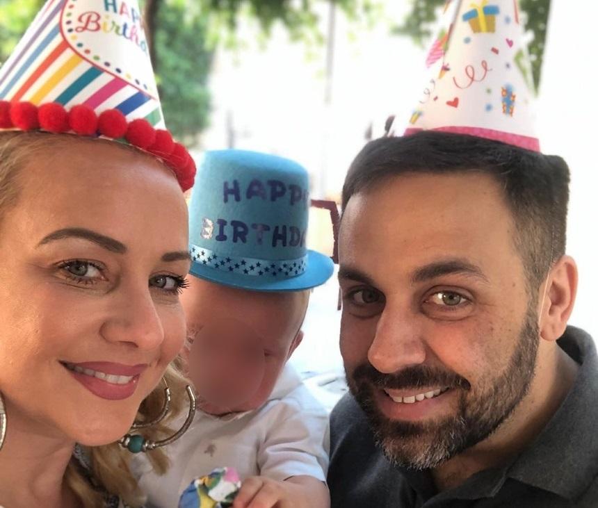 Γιώργος Γιαννιάς – Ελευθερία Παντελιδάκη: Γιόρτασαν τα πρώτα γενέθλια του γιου τους! [pics]