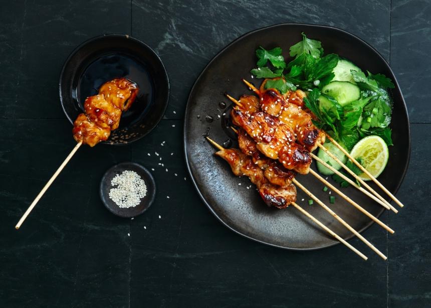 Κοτόπουλο Yakitori: Μια εύκολη και απολαυστική συνταγή!