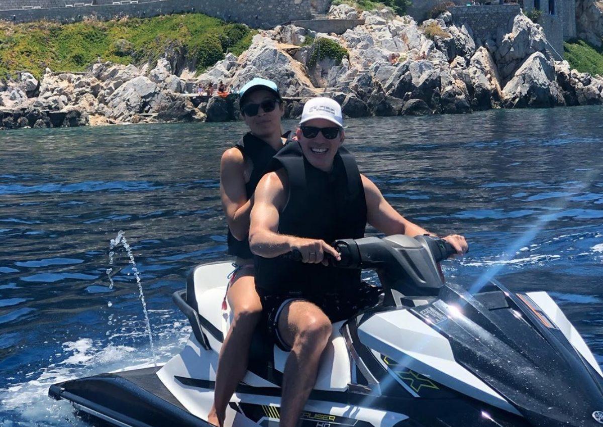 Μαριέττα Χρουσαλά – Λέων Πατίτσας: Κάνουν tour στα νησιά του Αργοσαρωνικού! [pics] | tlife.gr