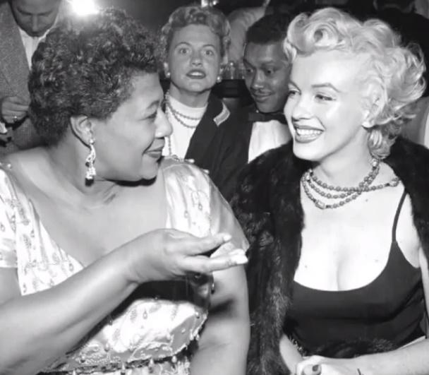Όταν η Μarilyn Monroe βοήθησε την Ella Fitzgerald, μετά τον ρατσιστικό αποκλεισμό της από club!   tlife.gr