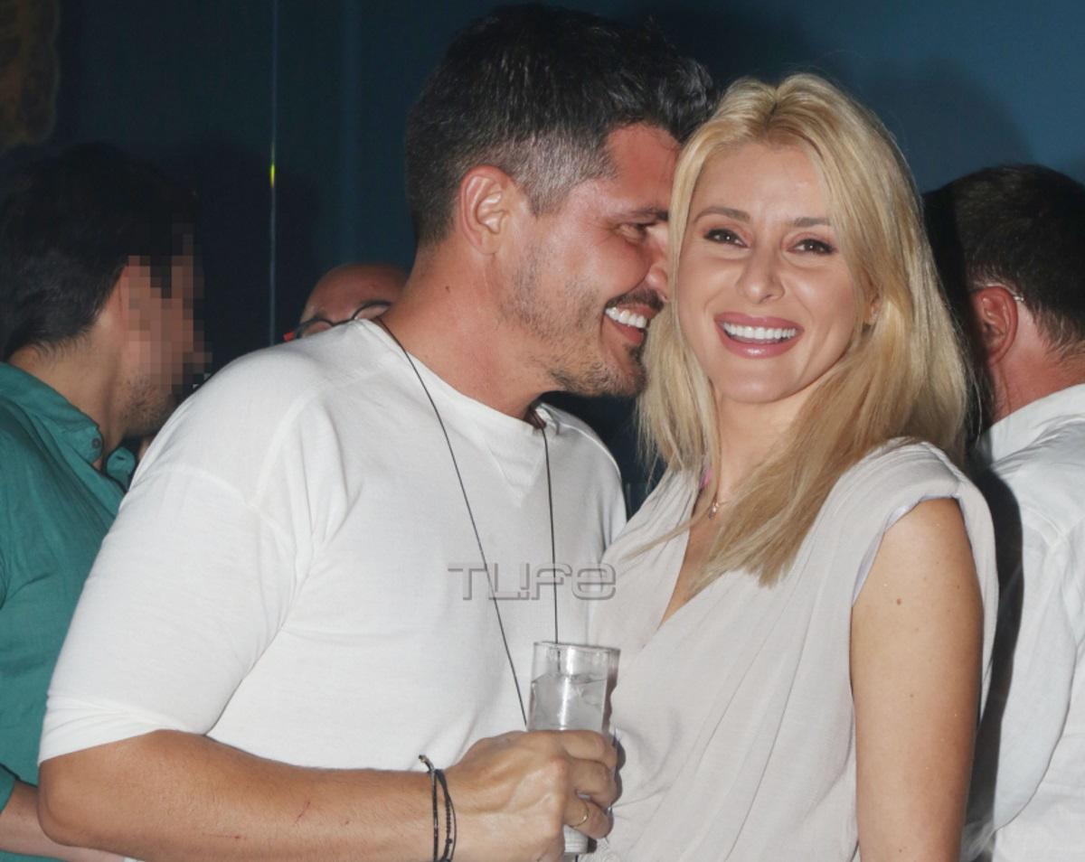 Μαρία Φραγκάκη – Νίκος Μάρκογλου: Βραδινή έξοδος για το ερωτευμένο ζευγάρι [pics]