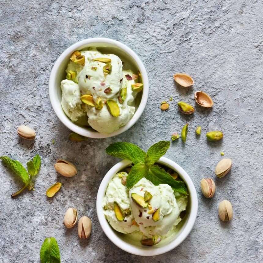 Συνταγή για σπιτικό παγωτό φιστίκι με μόλις 3 υλικά