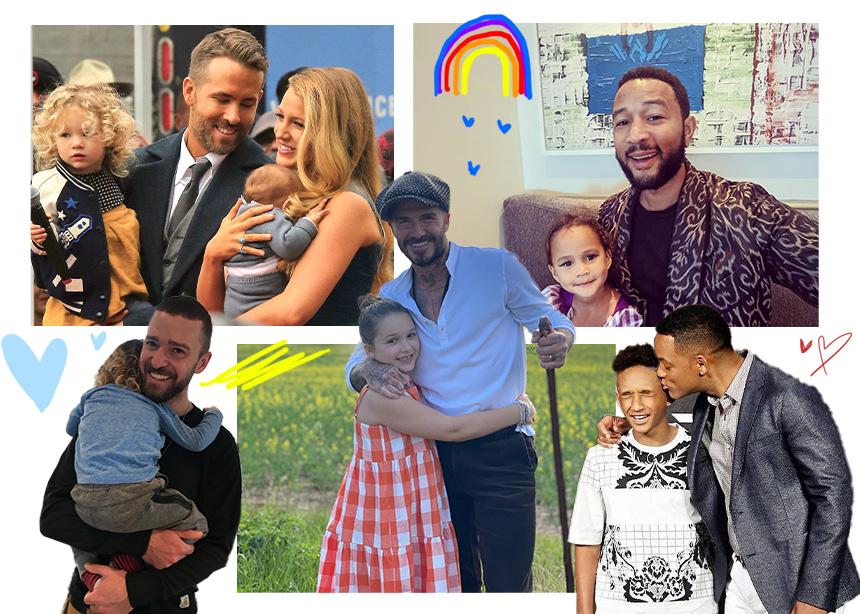 Γιορτή του Πατέρα: Διάσημοι μπαμπάδες περιγράφουν την πατρότητα με έναν πιο… αστείο τρόπο!