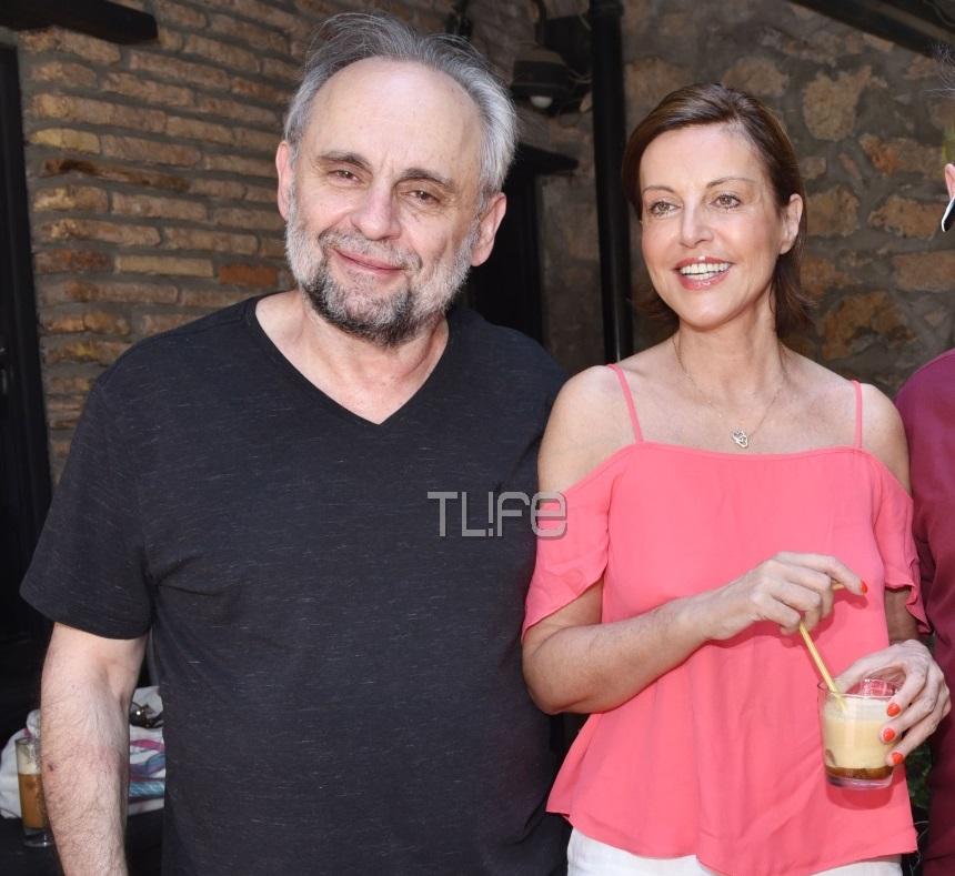 Αλεξάνδρα Παλαιολόγου: Με τον σύντροφό της στη συνέντευξη τύπου, λίγο πριν τις θεατρικές πρεμιέρες τους! [pics]   tlife.gr