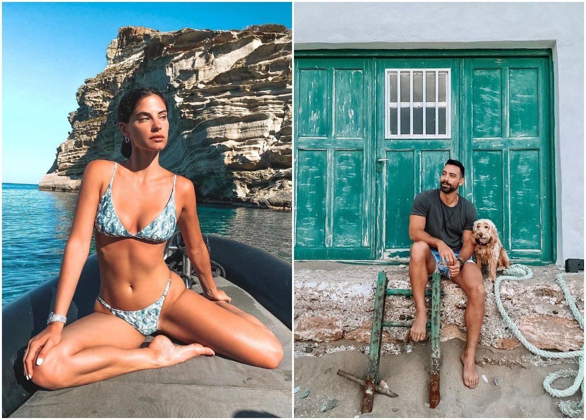 Σάκης Τανιμανίδης – Χριστίνα Μπόμπα: Ρομαντικό weekend στην Σαντορίνη! [pics,vids] | tlife.gr