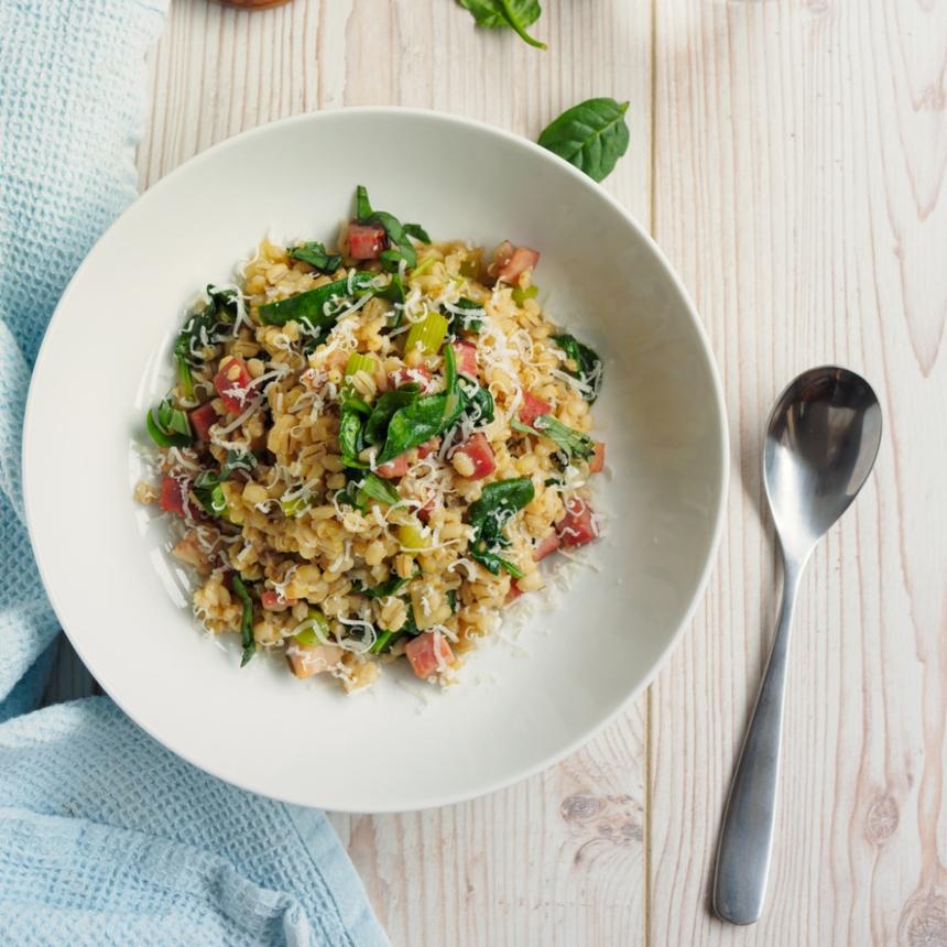 Συνταγή για ριζότο με λαχανικά