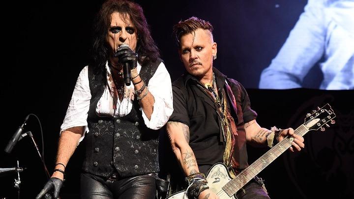 Ο Alice Cooper θα ήθελε να τον υποδυθεί ο Johnny Depp!