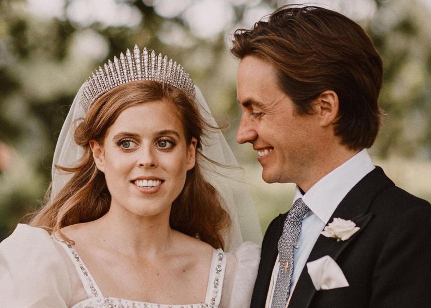 Η πριγκίπισσα Βεατρίκη δανείστηκε το νυφικό της από την…βασίλισσα Ελισάβετ!