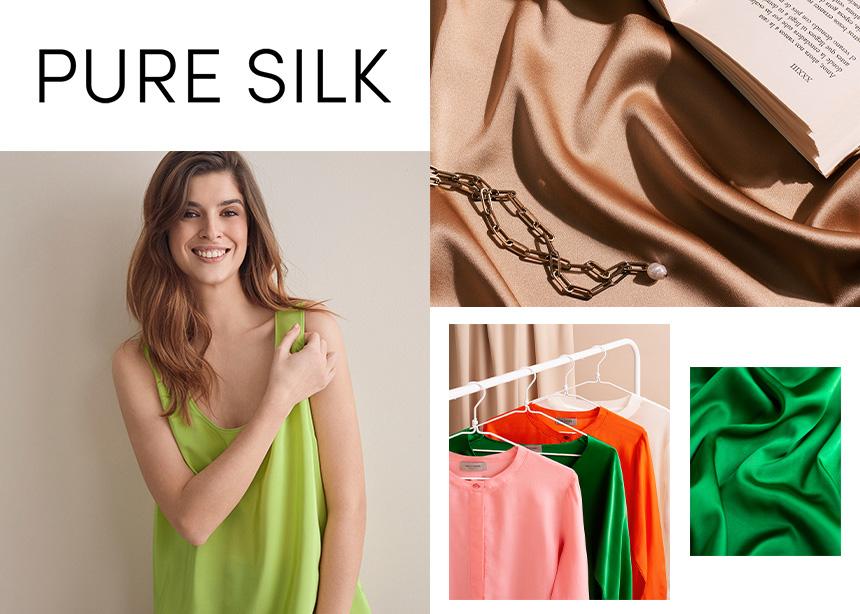 Η Pure Silk Collection της Falconeri είναι ό,τι πιο αιθέριο για αυτό το καλοκαίρι!