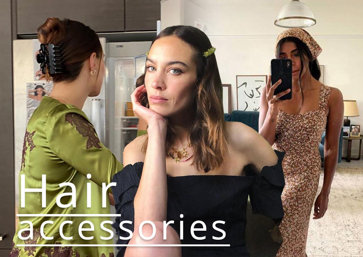 6 αξεσουάρ μαλλιών που φοράνε φανατικά τα κορίτσια της μόδας!
