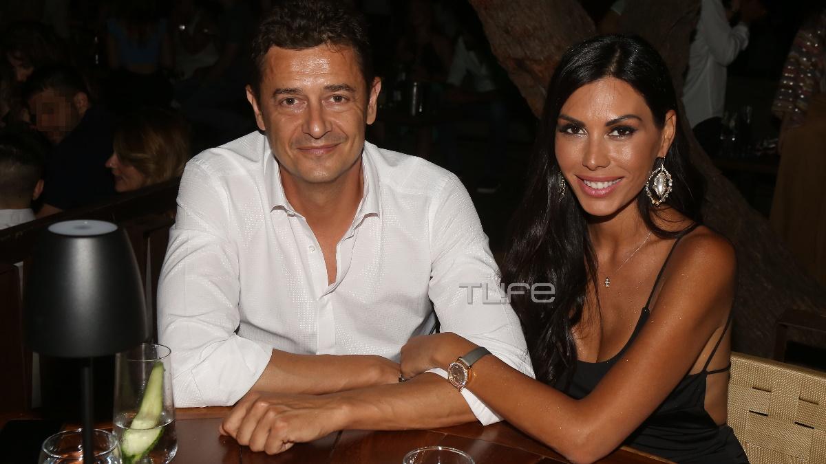 Αντώνης Σρόιτερ: Βγήκε να διασκεδάσει με την κούκλα σύζυγό του, Ιωάννα Μπούκη! [pics]