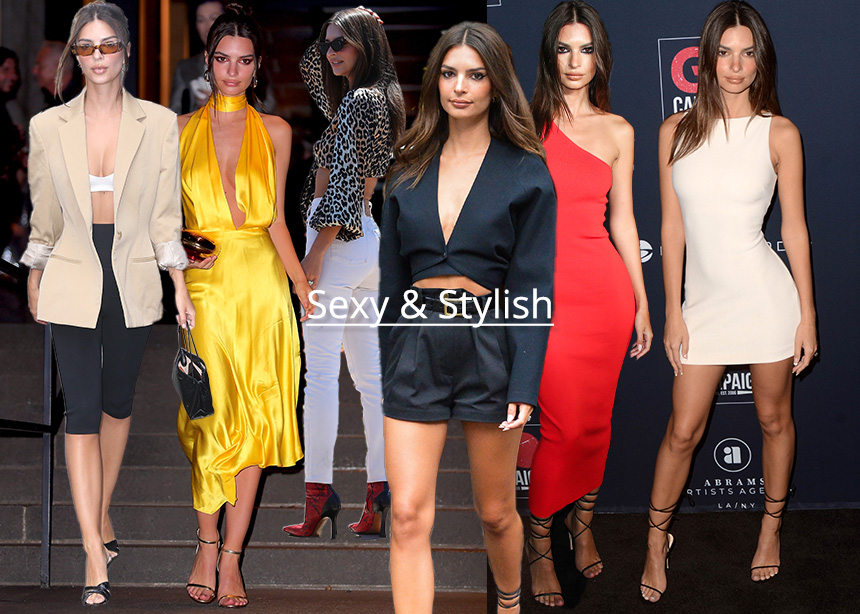 Emily Ratajkowski: Πως καταφέρνει και έχει αυτό το sexy & stylish στυλ | tlife.gr