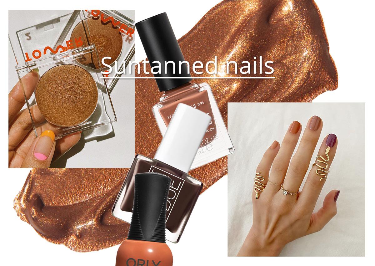 Suntanned! Το χρώμα που πρέπει να βάψεις τα νύχια σου στο επόμενο ραντεβού!