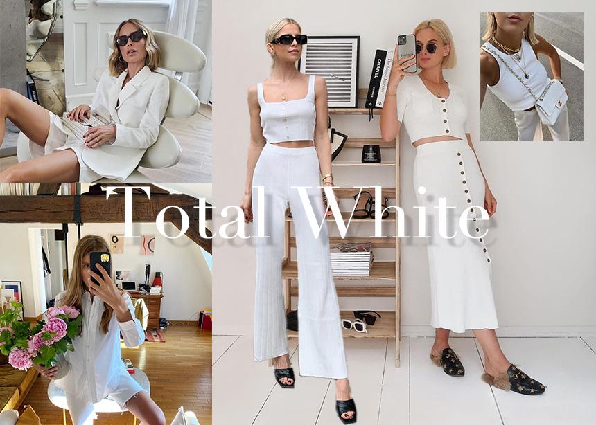 Ιδέες για να απογειώσεις φέτος το total white σύνολο σου!