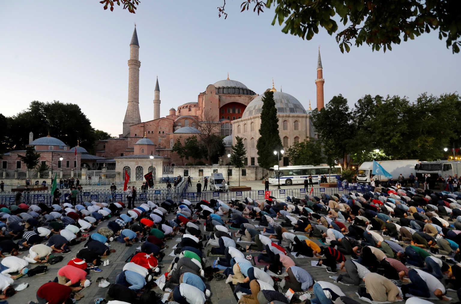 Αγιά Σοφιά: Διεθνές και ευρωπαϊκό και όχι ελληνοτουρκικό το ζήτημα