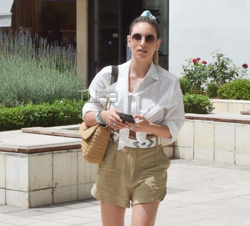Αθηνά Οικονομάκου: Οι τελευταίες βόλτες στην Αθήνα, λίγο πριν τις καλοκαιρινές της διακοπές! [pics] | tlife.gr
