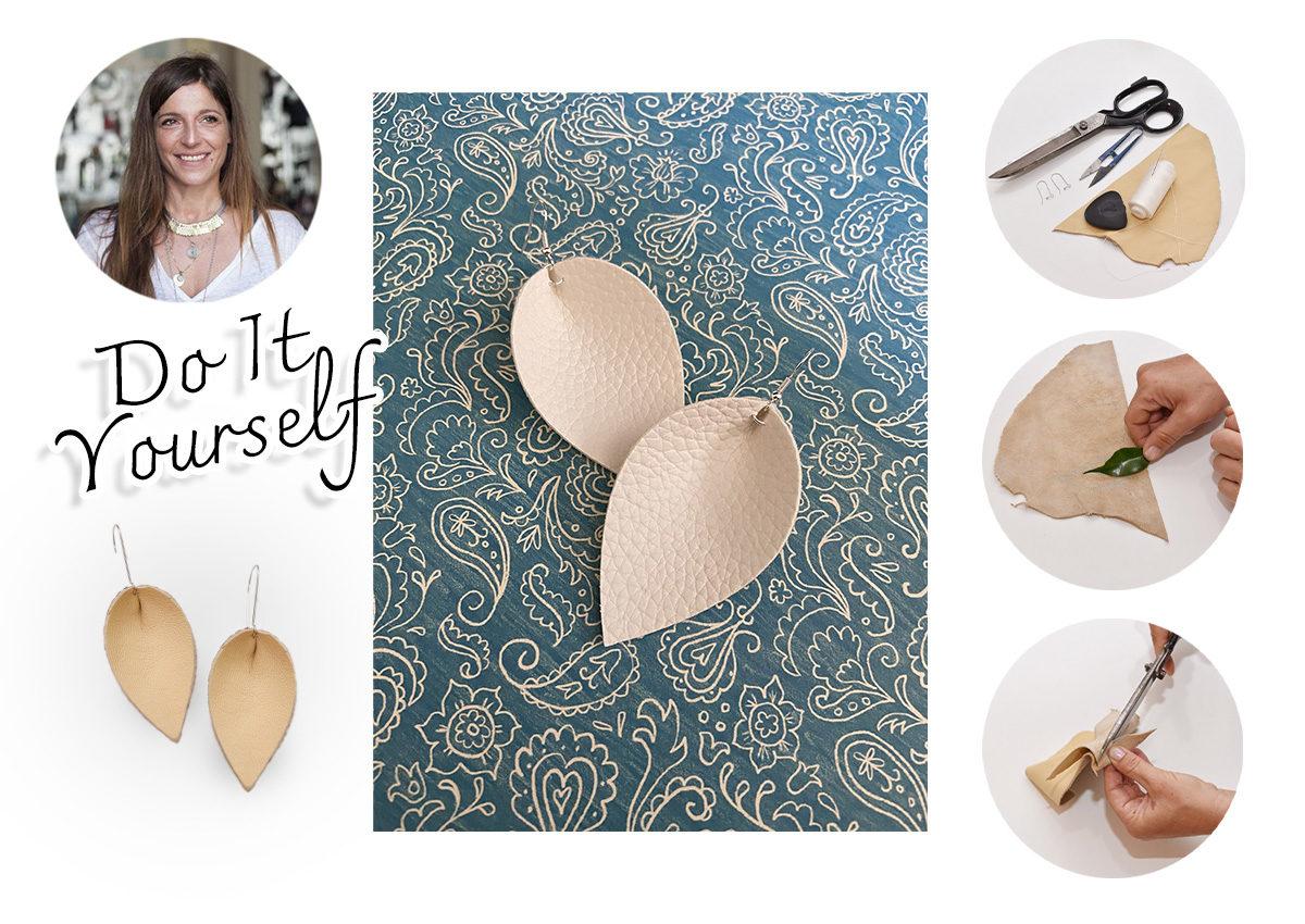 DIY: Φτιάξε μόνη σου ένα ζευγάρι boho σκουλαρίκια | tlife.gr