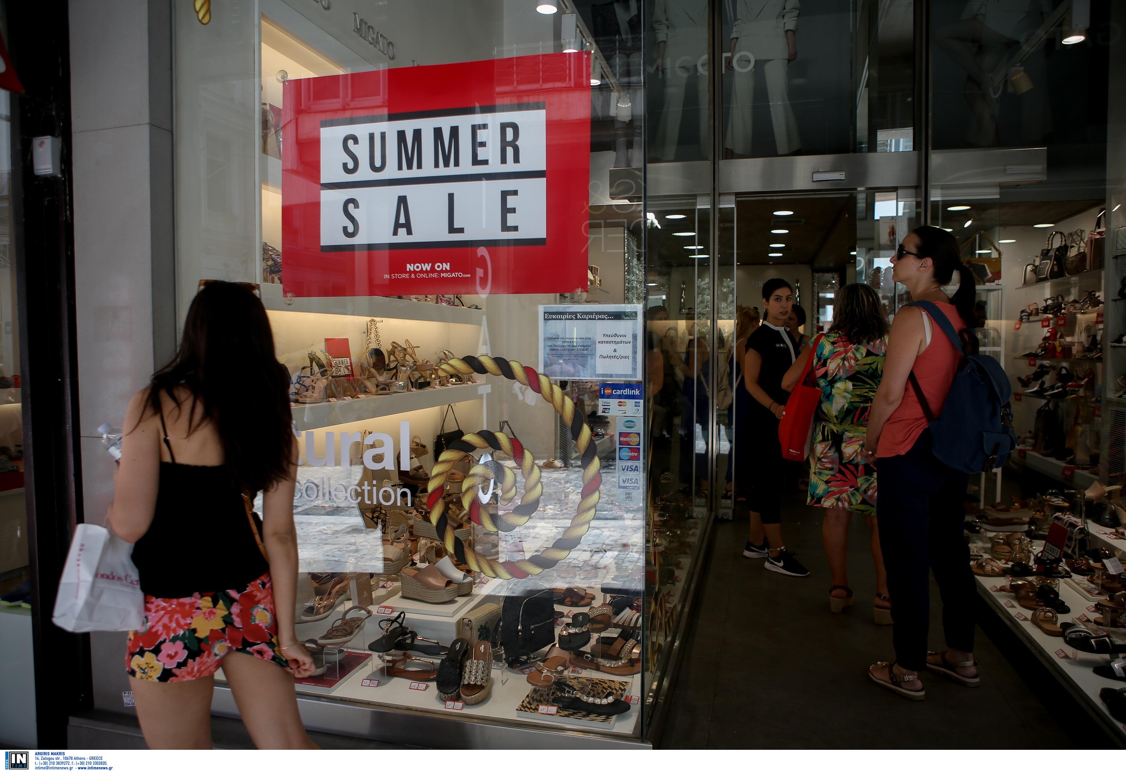 Θερινές εκπτώσεις 2020: Ανοιχτά σήμερα τα καταστήματα – Πώς θα λειτουργήσουν