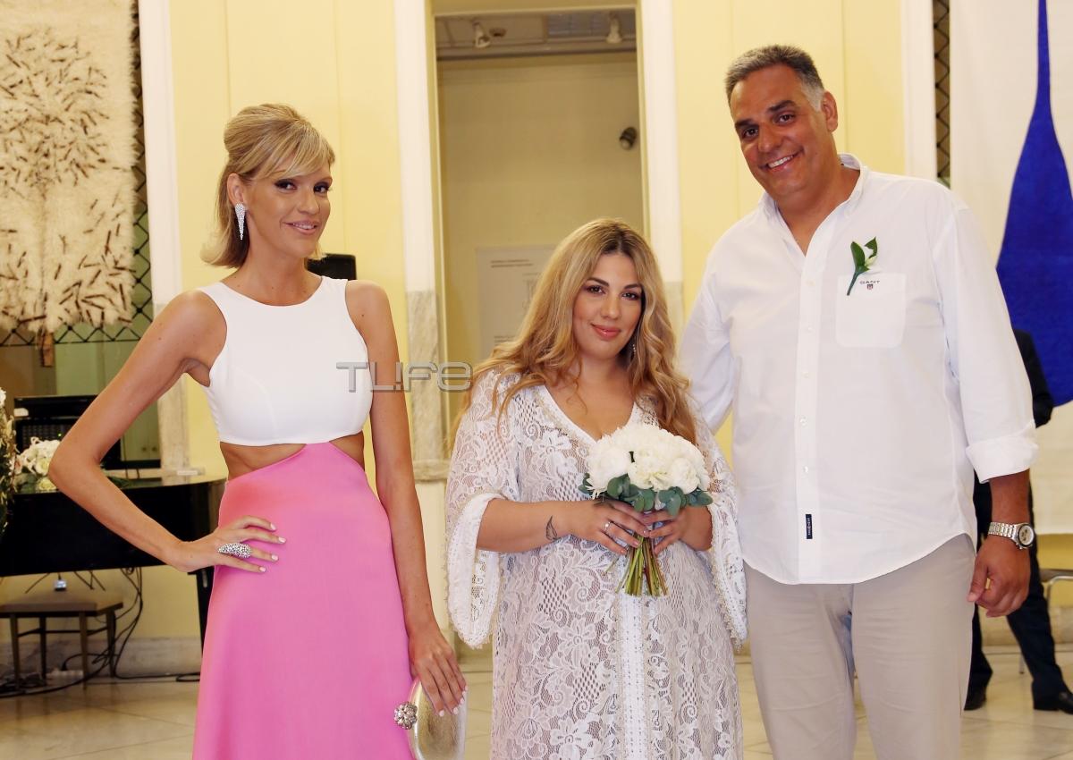 Σάσα Σταμάτη: Γάμος σε κλειστό κύκλο για τον αδελφό της Παναγιώτη! [pics]
