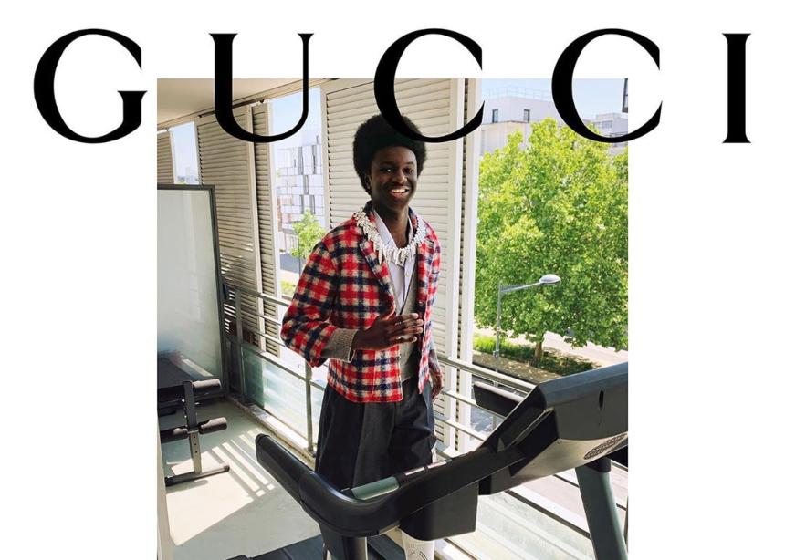 Στην νέα Gucci καμπάνια τα μοντέλα φωτογραφήθηκαν στο σπίτι με το κινητό τους!