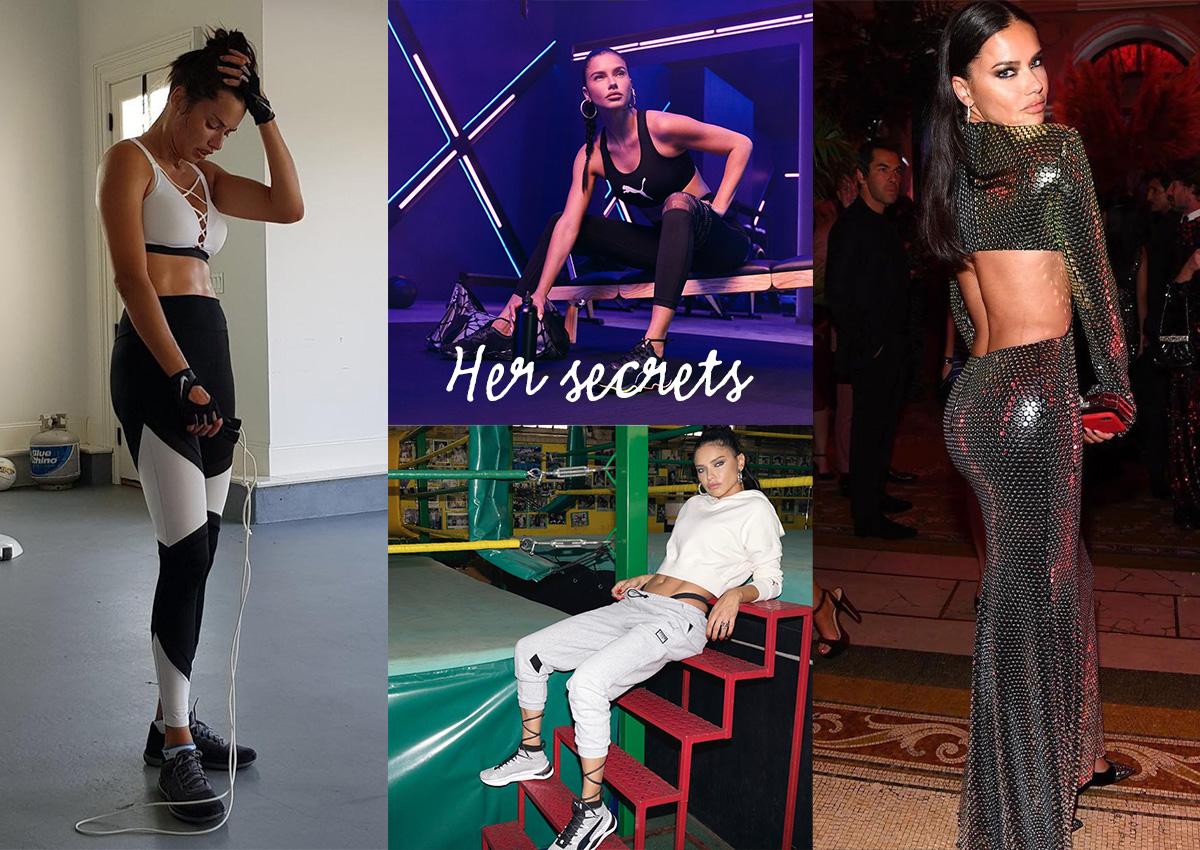 Adriana Lima: Το σκληρό πρόγραμμα γυμναστικής που ακολουθεί και το μυστικό της για επίπεδη κοιλιά