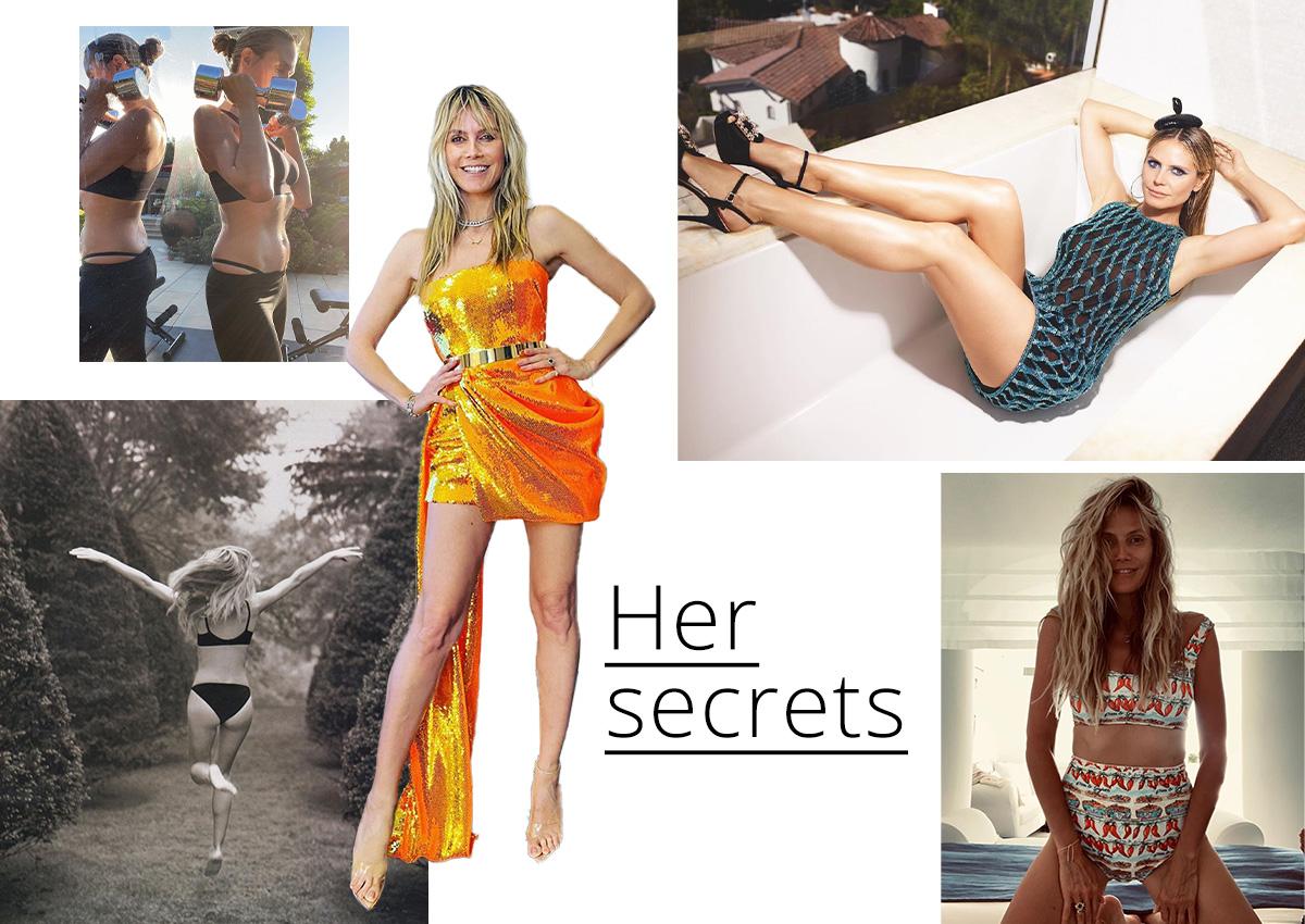 Heidi Klum: Τα fitness μυστικά της για τέλεια σιλουέτα!