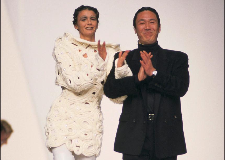 Πέθανε ο Ιάπωνας σχεδιαστής Κansai Yamamoto