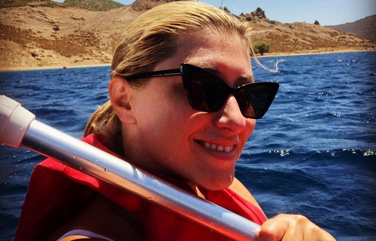 Σία Κοσιώνη: Η εντυπωσιακή υποβρύχια λήψη από τις διακοπές της [pic]