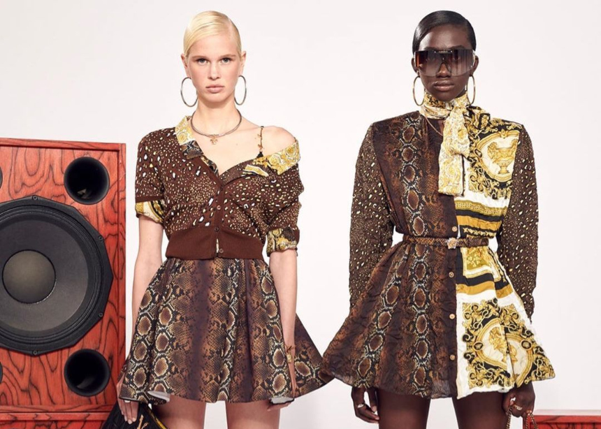 "H νέα συλλογή της Donattela Versace θα μπορούσε να λέγεται ""Snake"""