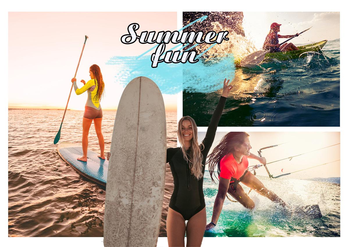 """Φέτος το καλοκαίρι πες """"ναι"""" στα θαλάσσια σπορ και δες το σώμα σου να αλλάζει!"""